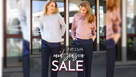 "Акция ""Mid Season Sale"" в магазине NELVA"