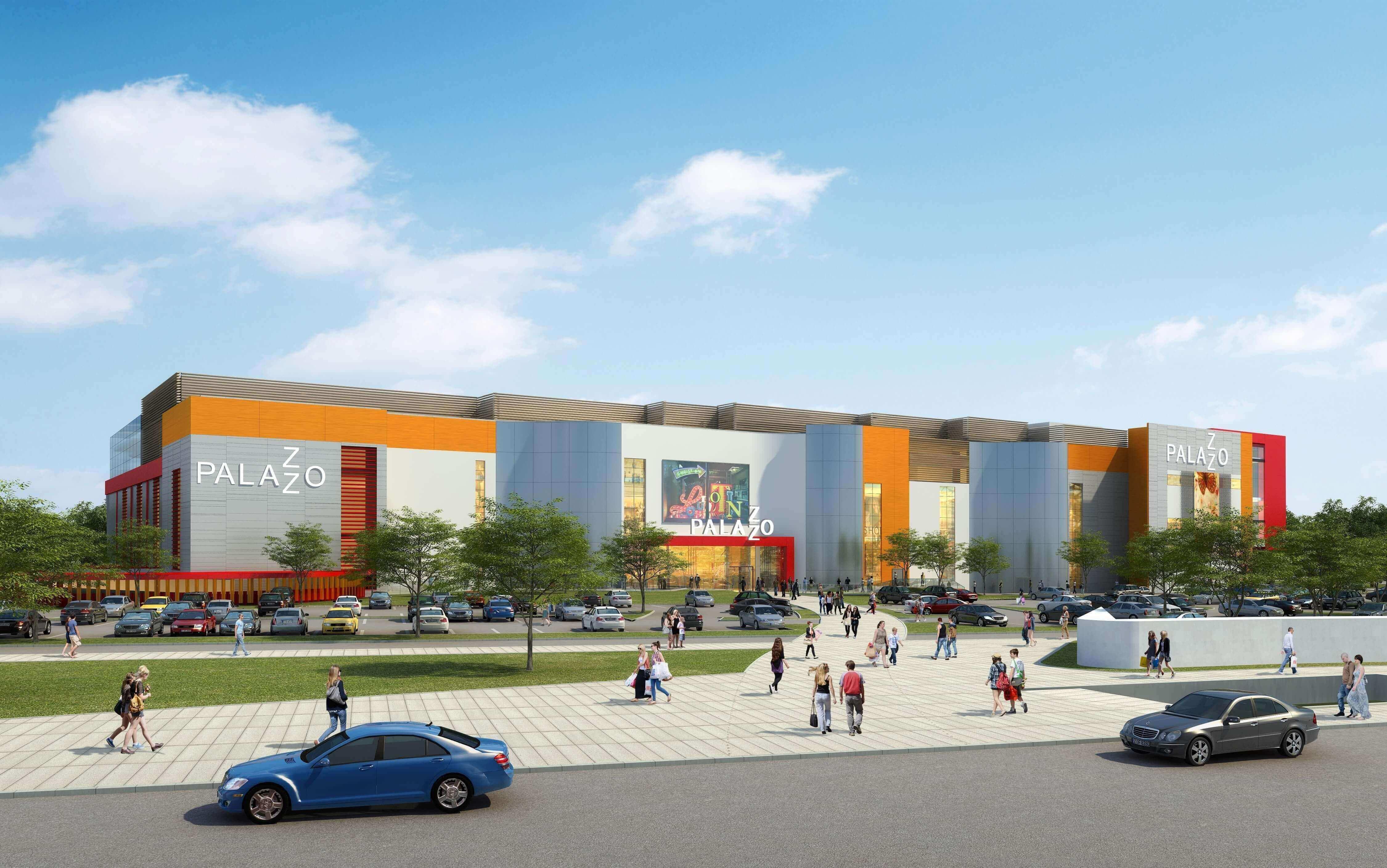 Новый торгово-развлекательный центр Palazzo